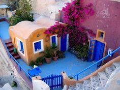 Santorini #ridecolorfully