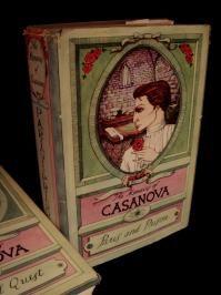 Old Books The Memoirs of Casanova 3 volume