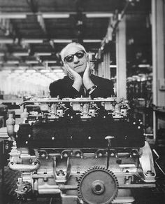 Enzo and an engine.