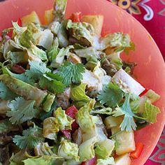 Spicy Chopped chicken Salad