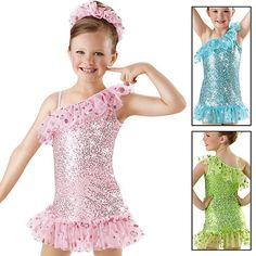 Skating Dance Costume Jazz Twirl Baton Tap Ballet 5413 | eBay