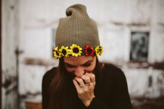 You couldn't buy a beanie this cool. | The 52 Easiest And Quickest DIY Projects Of All Time