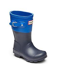 Hunter Toddler's & Kid's Colorblock Rain Boot