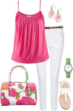 """""""Color me Pink"""" by romigr99 on Polyvore"""