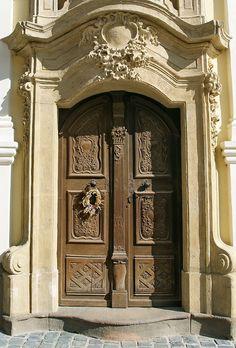 Limestone surround and door surround