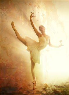 lights, ballet dancers, autumn, art, psalm, forest, belle, beauty, extensions