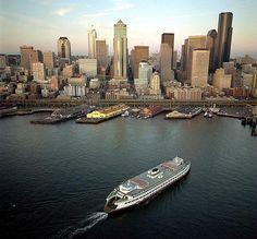 cityscapes, washington, bays, boats, emerald citi, place, heart seattl, estat news, seattl waterfront