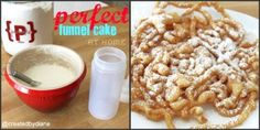 perfect funnel cake at home @createdbydiane