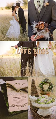 """I love the idea of the """"Love Birds"""" sign, since that is the theme we are doing."""