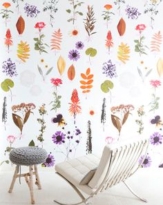 flowers on your wall!