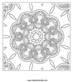 fancy mandala coloring pages - photo#2