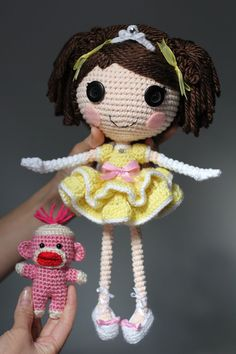 PATTERN Princess Laina Amigurumi Doll by epickawaii on Etsy, $6.99