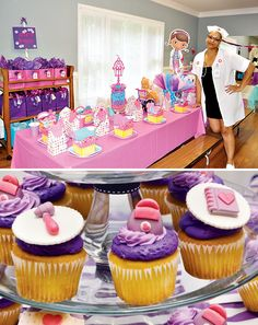 Pink & Purple Doc McStuffins Party