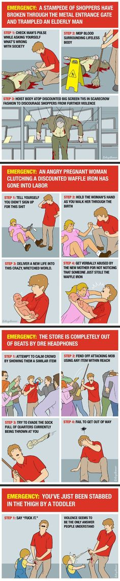 Black Friday emergency survival guide