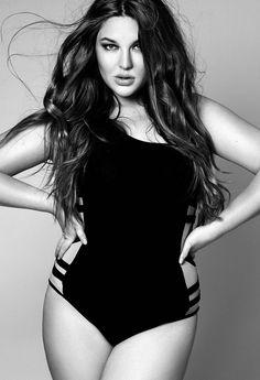 bodi, model, swimsuit, curvy girls, plus size fashions, beauti, curvi, curves, harriet coleman