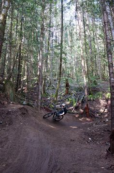 New Full Nelson mountain bike trail in Squamish