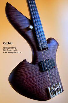 Orchid Bass Guitar