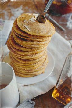 #Pumpkin #pancakes