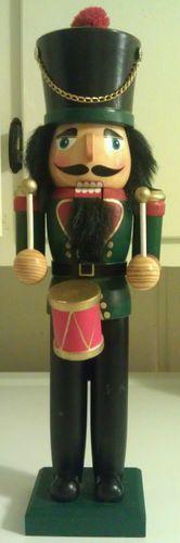 """Nutcracker With Drum 15"""""""