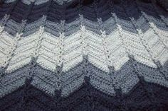 We sure do love this #free crochet #afghan pattern, and so will the men in your life!