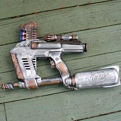 Steampunk Gun Nerf MAGSTRIKE