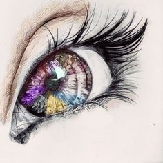 The Eye#Repin By:Pinterest++ for iPad#