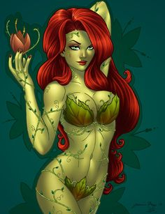 Poison Ivy - windriderx23 pinup pin-up