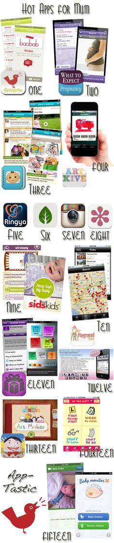 15 top apps for mums