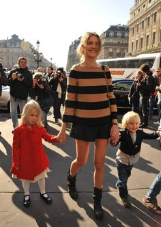 NATALIA VODIANOVA AT PARIS FASHION WEEK
