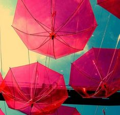 red umbrella inspiration