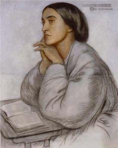 Christina Rossetti - Dante Gabriel Rossetti (1828-1882)