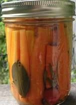 Spicy PickledCarrots