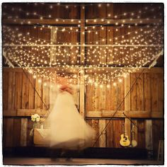 fairy lights everywhere