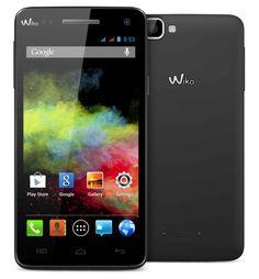 "SMARTPHONE WIKO RAINBOW 5"" BLACK 5/QUADCORE/1GB/4GB/DUAL SIM/ ANDROID4.2 177,81€ PVP #tiendanexus"