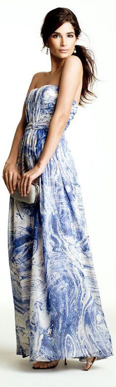 #Maxi Dress  Maxi Dresses #2dayslook #MaxiDresses #sunayildirim #watsonlucy723  www.2dayslook.com