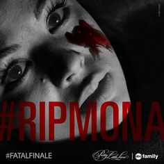 Who do you think killed Mona?? What a chilling moment from the #FatalFinale #RIPMona | Pretty Little Liars