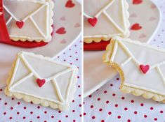 Love Letter Cookies!
