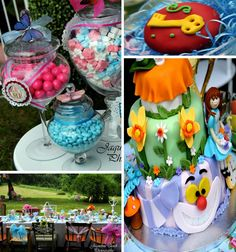Alice In Wonderland Party With Lots of Ideas via Kara's Party Ideas   KarasPartyIdeas.com #alice #in #wonderland #supplies #ideas