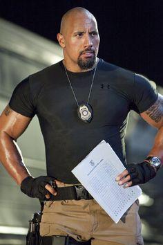 mmmmm.... Dwayne Johnson!