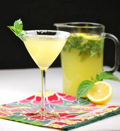 Spiked Basil Lemonade