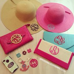Monograms . Want it all!