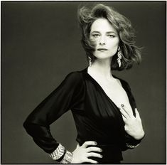 Charlotte Rampling, Ph. Bettina Rheims 1985