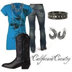 """""""Blue Wrangler"""" by californiacountry on Polyvore"""