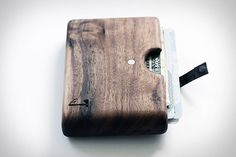 wooden wallet?  Yes