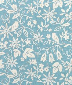 Suburban Home Chloris Aegean Fabric