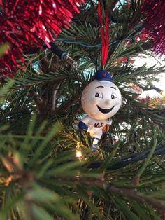 Mr. Met ornament
