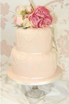 Blush ♥Wedding Cake