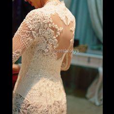 kebaya akad, kebaya buat, wear, kebaya pengantin, thing