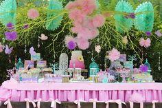Pastel Butterfly Garden Party with Such Cute Ideas via Kara's Party Ideas   KarasPartyIdeas.com