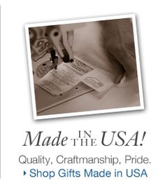 Gifts, made in the USA at Cuddledown